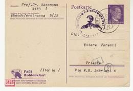 8592 OSTERREICH POSTKARTE DEUTSCHES REICH -  WIEN TO TRIESTE - Censura Censure Zensur Censored - 1918-1945 1a Repubblica