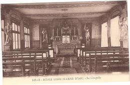 59 LILLE ECOLE LIBRE JEANNE D'ARC - Lille