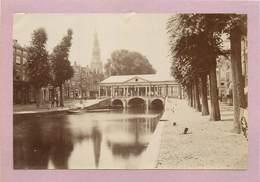LIEGE - Le Marché, Photo Vers 1900 Format 18cm X 12cm . - Lieux