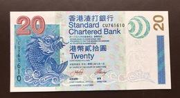 HONG KONG P291 20 DOLLARS 01.07.2003 UNC - Hongkong