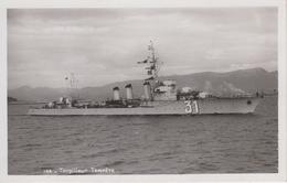 """CPA Torpilleur """"Tempête"""" (rade De Toulon) Voir Texte Verso - Guerre"""