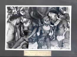 NU & COMPORTEMENT ETHNIQUE - PHOTO; PHOTOTHEQUE; MUSEE DE L'HOMME -  (16,5 X 24 Cm). - Afrique Du Sud, Est, Ouest