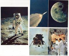 évènement -Espace--Conquête De La Lune--Mission  APOLLON XI--Lot De 9 Cartes (animations) .......à Saisir - Autres