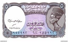 EGYPTE 5 PIASTRES L. 1940 (2001) P-188b NEUF [EG188] - Egypt