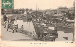 59 JEUMONT Le PORT,belles PENICHES - Jeumont