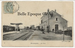 36 - BUZANÇAIS - La Gare +++ BF, Paris, #4 ++++ 1904 ++++ - France