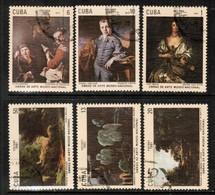 CUBA  Scott # 2379-84 VF USED (Stamp Scan # 447) - Cuba