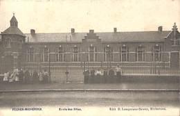 Fecher Micheroux - Ecole Des Filles (animée, Edit. B Lempereur Dewez, 1908) - Soumagne