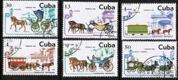 CUBA  Scott # 2420-5 VF USED (Stamp Scan # 447) - Cuba