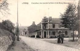 Mery - Carrefour Des Rues De La Gare Et De Hony-Esneux (animée..plis Proche Du Coin Inférieur Droit) - Esneux