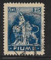 "Fiume, Scott # 33 Used ""Revolution"", 1919 - 8. WW I Occupation"