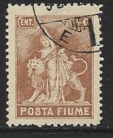 "Fiume, Scott # 49 Used ""Revolution"", 1919 - 8. WW I Occupation"