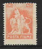 """Fiume, Scott # 50 Mint Hinged  """"Revolution"""", 1919 - 8. WW I Occupation"""