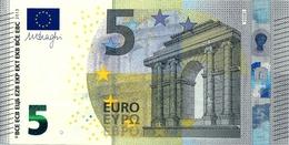 5  EURO - GRECIA  -  Serie   Y  A 5548858127 - Codice Breve  Y 006 B 1  -  Firma  DRAGHI - 5 Euro