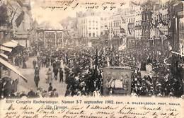 Namur - Congrès Eucharistique Septembre 1902 (Edit Gilles-Ledoux, Rare, Top Animation 1903) - Namur