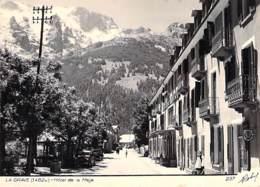 05 - LA GRAVE : HOTEL De La MEIJE - CPSM Dentelée Photo Grand Format - Hautes Alpes - Otros Municipios