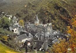 12 - CONQUES En ROUERGUE ( Etape De St Jacques De Compostelle ) Vue Générale - CPSM Grand Format - Aveyron - France