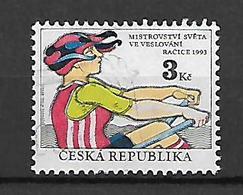 Czech Republic 1993 World Rowing Championship, Racice 1993   Used - Tschechische Republik