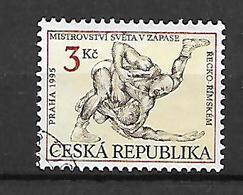 Czech Republic 1995 World Greco-Roman Ring Fighting Champsionship     Used - Gebraucht