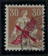 Suisse // Schweiz // Switzerland // Poste Aérienne  // Timbre No. 1 Oblitéré - Poste Aérienne