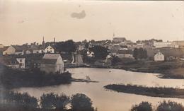 Real Photo Véritable 1907 (?) - À Identifier - To Identify - Warwick (?) Québec - 2 Scans - A Identifier