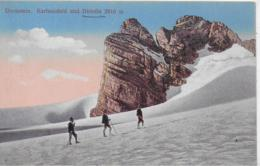 AK 0148  Dachstein - Karlseisfeld Und Dirndln / Verlag Brandt Um 1906 - Ramsau Am Dachstein