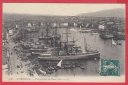 CPA-13-MARSEILLE- Vieux Port -Voiliers - Vapeurs -Ann.1900 - SUP ** 2 SCANS - Vieux Port, Saint Victor, Le Panier