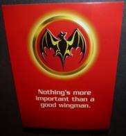 Carte Postale - Bat & Coke (aka Bacardi & Coke) Nothing's More Important Than A Good Wingman (Batman) - Werbepostkarten