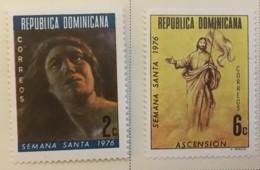 DOMINCAN REPUBLIC - (0) - 1976 - # 762/763 - Dominican Republic