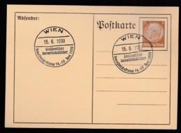 Deutsches Reich Brief Ungelaufen Sonderstempel 1939 Wien Lot 440D - Deutschland