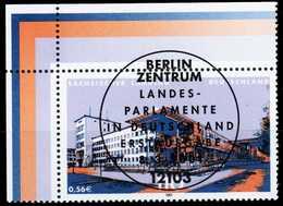 BRD 2001 Nr 2172 ZENTR-ESST ECKE-OLI X2CBB62 - [7] République Fédérale