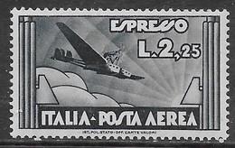 Italia Italy 1933 Regno Espresso Aereo L2,25 Sa N.A44 Nuovo MH * - 1900-44 Vittorio Emanuele III