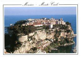 Le Rocher De Monaco. Monte-Carlo. De Rots. - Monte-Carlo