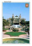 Monaco. Monte-Carlo. Le Casino De Monte-Carlo Depuis Les Jardins. - Casino