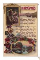 GUERRE 14 18 Ww1  Letter British Soldier Romantic Mizpah Lord Love Wife  Valentines  Serie - Patriottiche