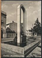 °°° 13276 - LEGNANO - MONUMENTO AI CADUTI (MI) 1955 °°° - Legnano