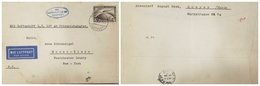 O) 1931 CIRCA-GERMANY, GRAF ZEPPELIN CROSSING OCEAN SCT C37 4m, LUFTSCHIFF L.Z. 127 AB FRIEDRICHCHSHAFEN -MIT LUFTPOST. - Germany