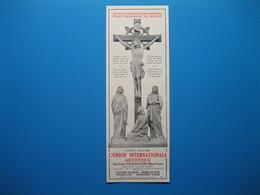 (1931) Statuaire Religieuse - L' UNION INTERNATIONALE ARTISTIQUE - Vaucouleurs (Meuse) - Non Classificati