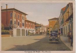 CERVIGNANO DEL FRIULI-UDINE-VIA OBERDAN-CARTOLINA ANNO 1935-940 - Udine