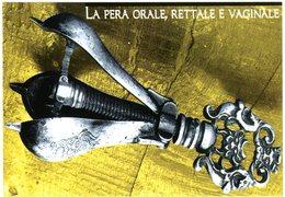 Pera Orale, Rettale, Vaginale. Venezia 1575. Oral, Rectal, Vaginal Pear. Poire Orale, Rectale, Vaginale. San Gimignano. - Autres Villes