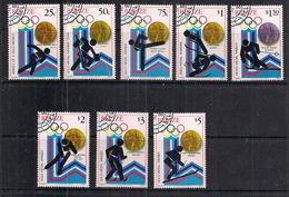 BELIZE 1980 GIOCHI OLIMPICI  YVERT  487-494 USATA VF - Belize (1973-...)