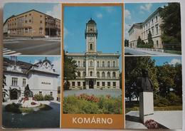 KOMARNO - Ceskoslovensko (CZECH REPUBLIK) - Hotel Europa - Oblastne Podunajske Muzeum - Budova MsNV  Vg - Repubblica Ceca