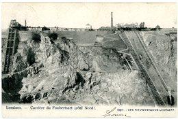 Lessines. Carrière Du Foubertsart (côté Nord). Lessen. Steengroeve Foubertsart (kant Noord). Circulé En 1902. Verstuurd. - Lessines