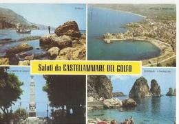 17/FG/19 - TRAPANI - CASTELLAMARE DEL GOLFO: Saluti Da, Con Vedutine - Trapani