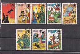 BELIZE   1980  ANNO INTERNAZIONALE INFANZIA   YVERT  495-502   USATA   XF - Belize (1973-...)