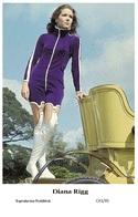 DIANA RIGG - Film Star Pin Up PHOTO POSTCARD - C41-35 Swiftsure Postcard - Artistas