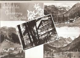 84/FG/19 - AOSTA - GRESONEY LA TRINITE' : Saluti Da, Con Vedutine - Italia