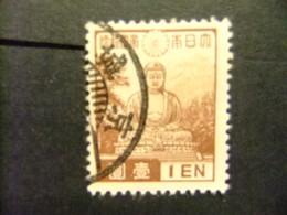 Japon 1937 Statue De Bouddha à Horyu-ji NARA Yvert 276 FU - Usati