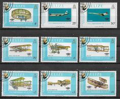 BELIZE  1979 CENTENARIO DELLA MORTE DI ROWLAND HILL YVERT. 430-438 USATA VF - Belize (1973-...)