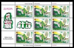 Slowenien Kleinbogen MiNr. 225 Postfrisch MNH Cept 1998 (A2892 - Slowenien
